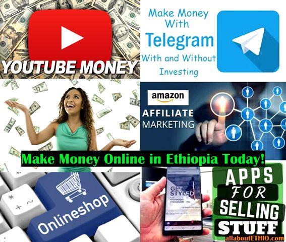 10 ways to make money online in ethiopia