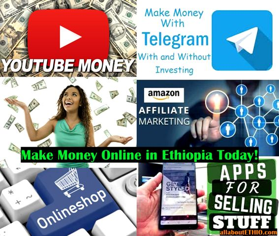 10 ways to make money online in ethiopia