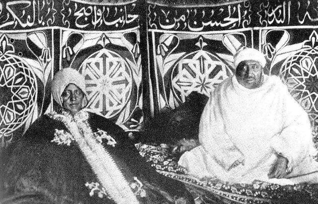 abba jiffar ii with wife