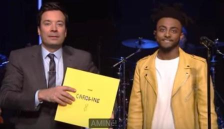 amine ethiopian rapper at awards show