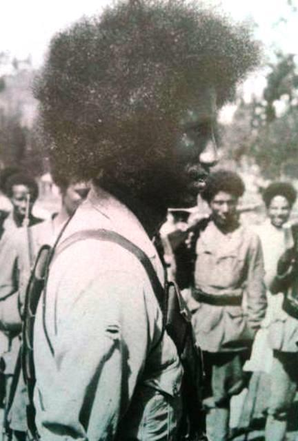 belay zeleke leading his army