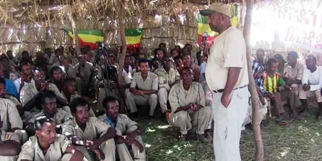 berhanu nega rebel soldiers commander eritrea