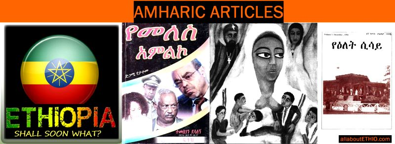 amharic books articles