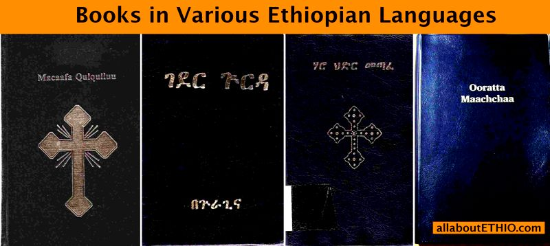 amharic books various ethiopian languages