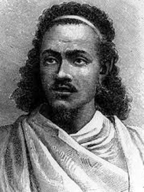 emperor tewodros in his youth