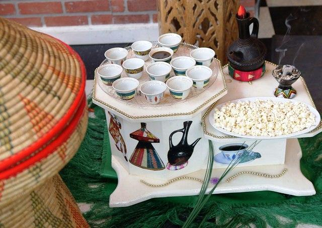 ethiopian coffee ceremony popcorn
