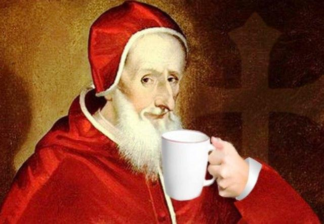 ethiopian coffee history pope clement