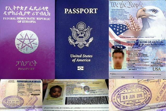 ethiopian immigration office visa passport application