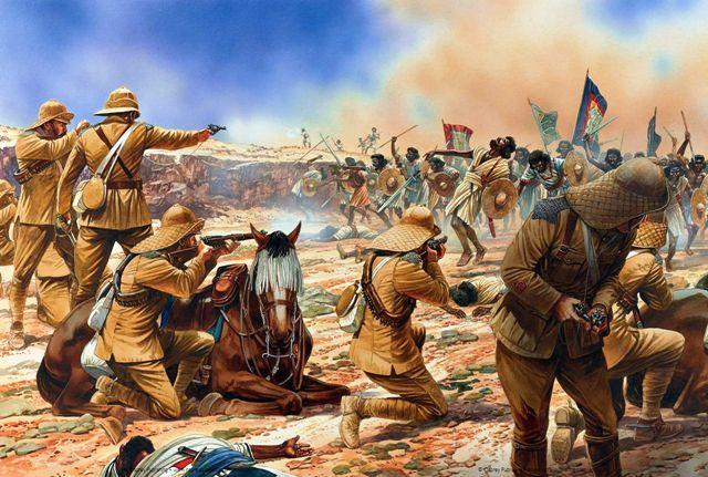 ethiopian mahdist war british fighting dervishes