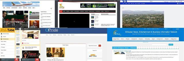 ethiopian news websites