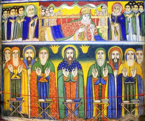 ethiopian tewahedo orthodox 9 saints