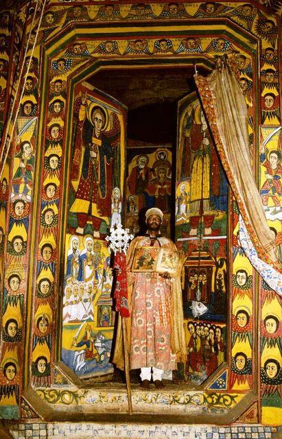 ethiopian tewahedo orthodox holy of holies inside church