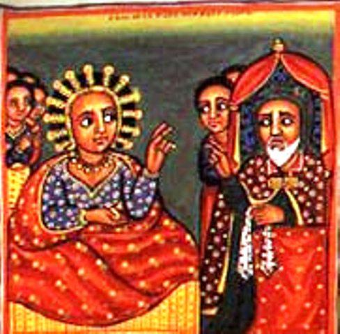ethiopian tewahedo orthodox queen sheba king solomon