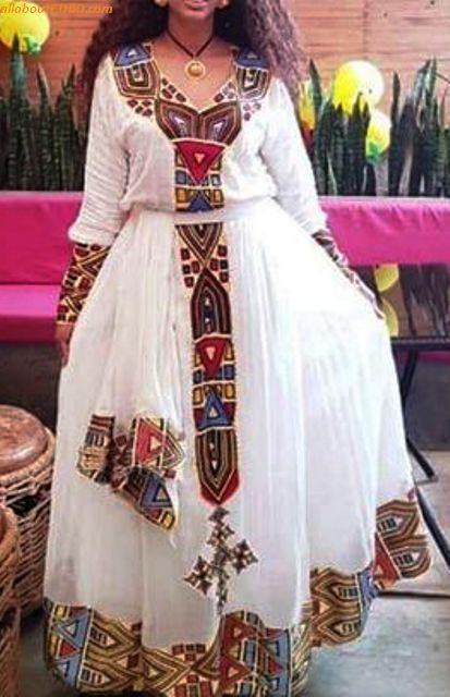 ethiopian traditional clothes habesha kemise 10