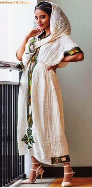 ethiopian traditional clothes habesha kemise 11