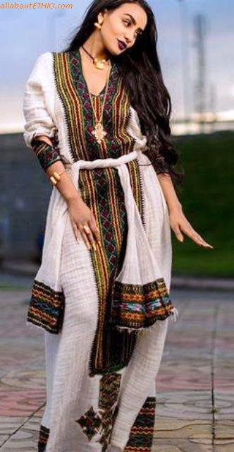 ethiopian traditional clothes habesha kemise 14