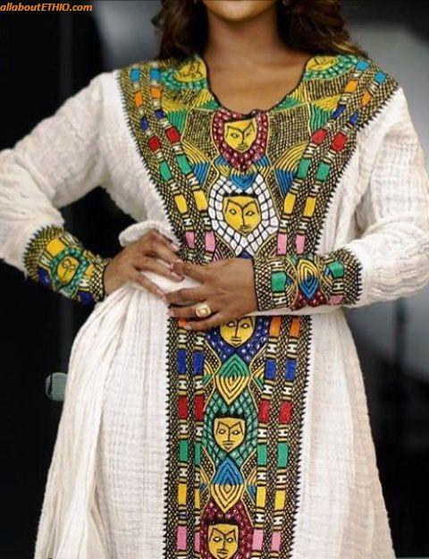 ethiopian traditional clothes habesha kemise 16