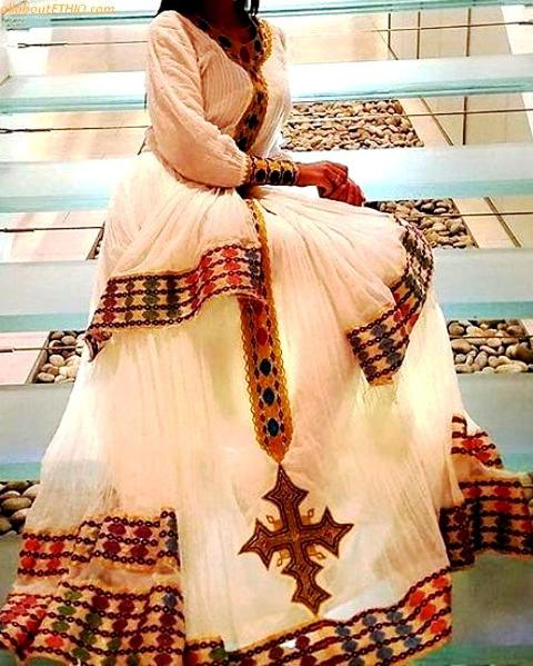 ethiopian traditional clothes habesha kemise 25