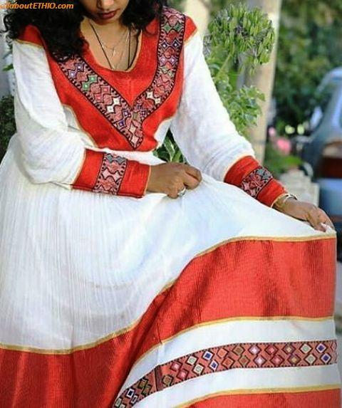 ethiopian traditional clothes habesha kemise 45