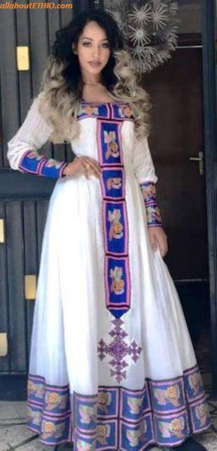 ethiopian traditional clothes habesha kemise 5