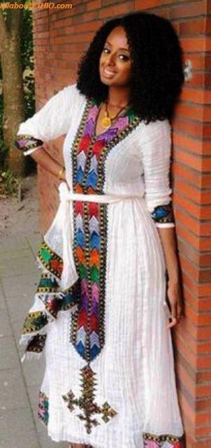 ethiopian traditional clothes habesha kemise 58