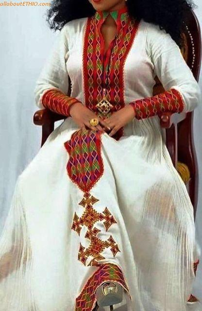 ethiopian traditional clothes habesha kemise 62