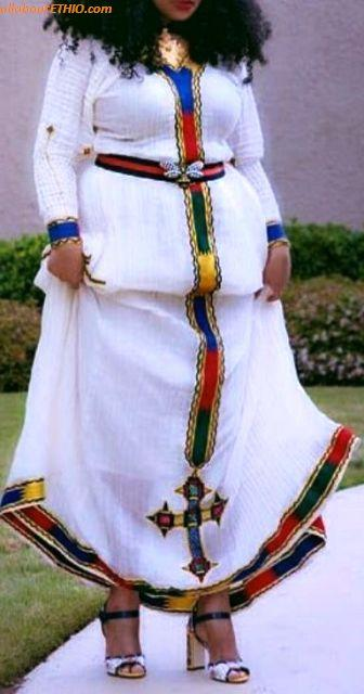 ethiopian traditional clothes habesha kemise 63