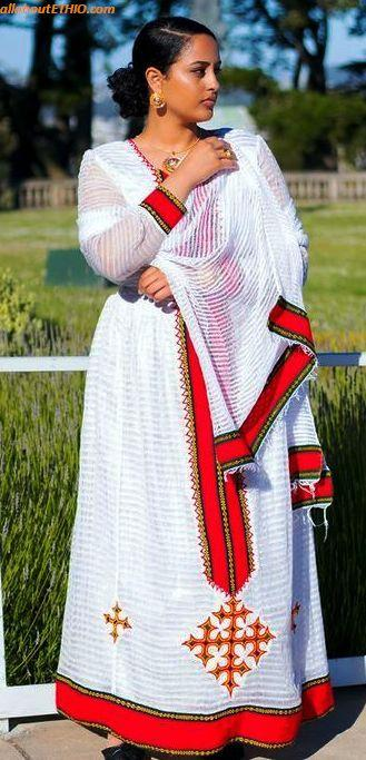 ethiopian traditional clothes habesha kemise 66