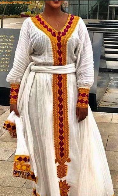 ethiopian traditional clothes habesha kemise 68