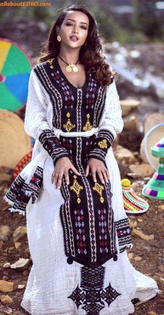 ethiopian traditional clothes habesha kemise 7