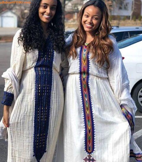 ethiopian traditional clothes habesha kemise 81
