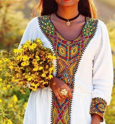 ethiopian traditional clothes habesha kemise 83
