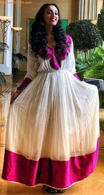 ethiopian traditional clothes habesha kemise 85