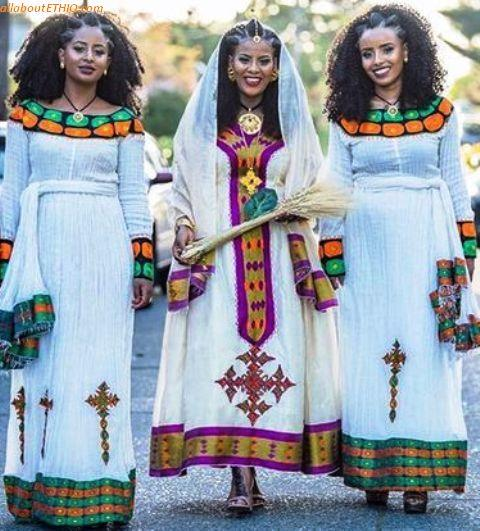 ethiopian traditional clothes habesha kemise 86