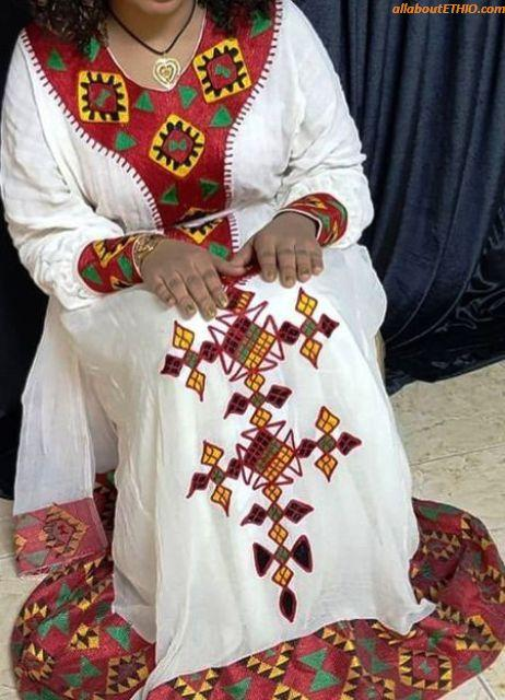 ethiopian traditional clothes habesha kemise 88