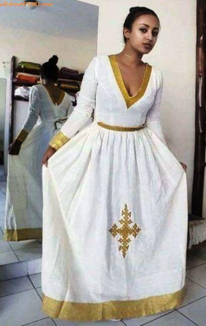 ethiopian traditional clothes habesha kemise 98