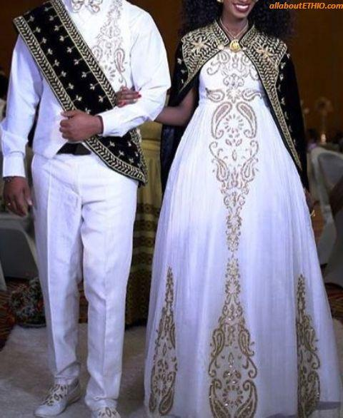 3d22f476f 13 of the Best Ethiopian Traditional Wedding Clothes for Men & Women ...