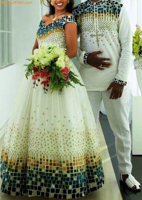 3fdf075512 13 of the Best Ethiopian Traditional Wedding Clothes for Men & Women ...