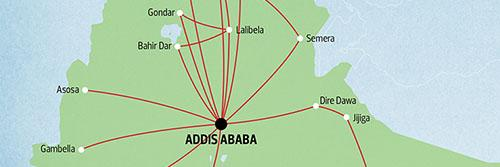 ethiopian airlines flight plans