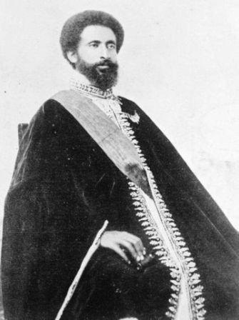 a young haile selassie