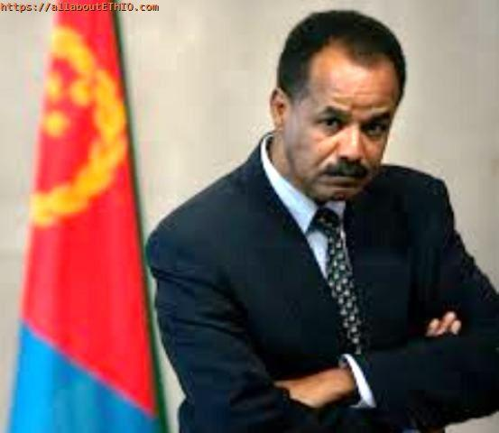 isaias afwerki posing with eritrean flag