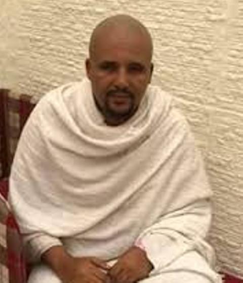 jawar mohammed dressed like ghandi
