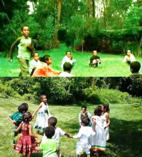 kebeto traditional ethiopian duck-goose game sport