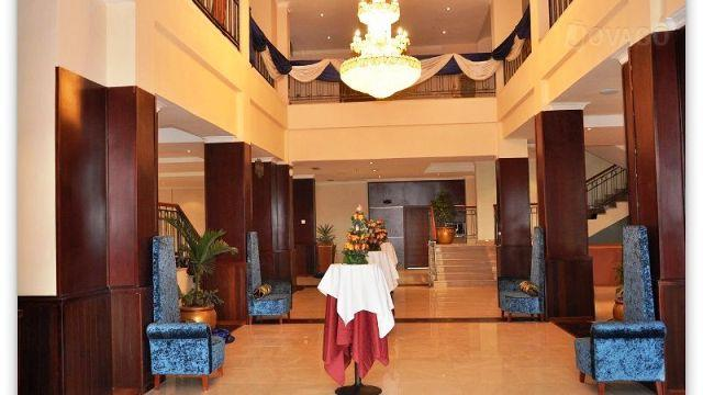 lobby of Kenenisa hotel and resort