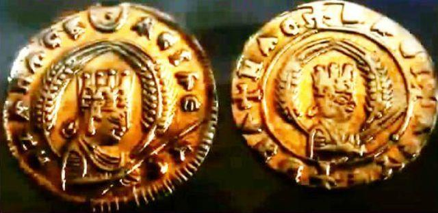 king ezana gold coins