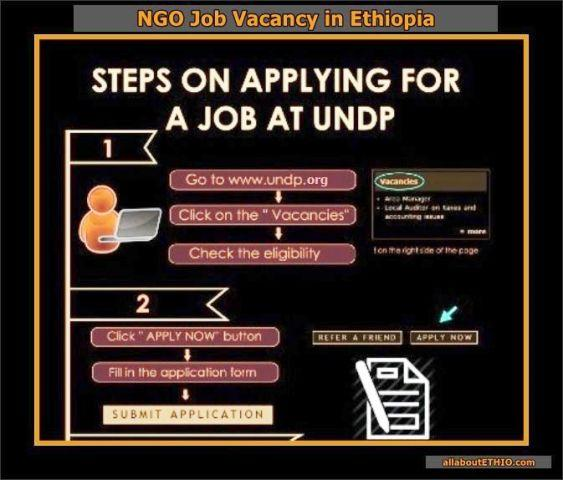 NGO Job Vacancy in Ethiopia — allaboutETHIO