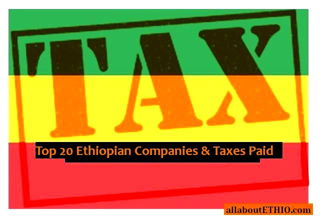 top ethiopian companies and tax payers