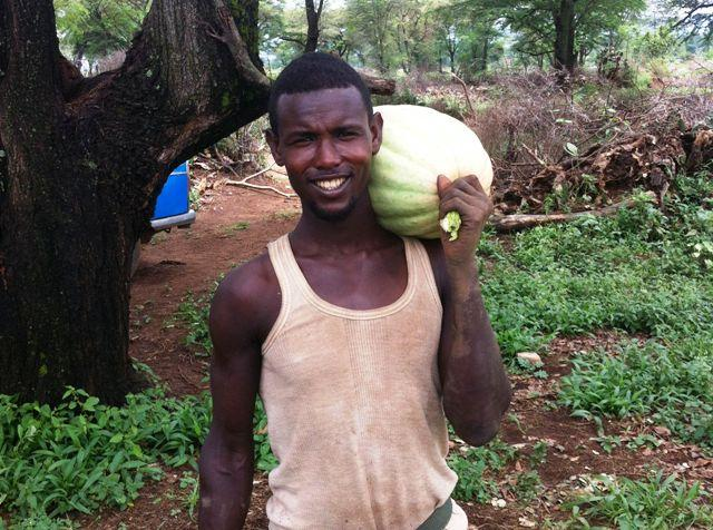 worker for aaga agro farm in babile